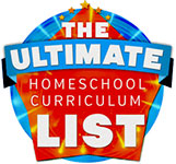 Ultimate Homeschool Curriculum List
